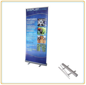 China Supply Budget Heavy 85cm Retractable Roll up Banner Stand pictures & photos
