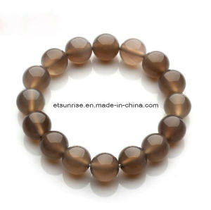 Fashion Natural Crystal Tiger Eye Amethyst Beaded Jewelry Chakra Bracelet Bangle pictures & photos