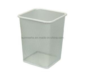 Square Open Top Paper Waste Bin for Hotel & Office pictures & photos