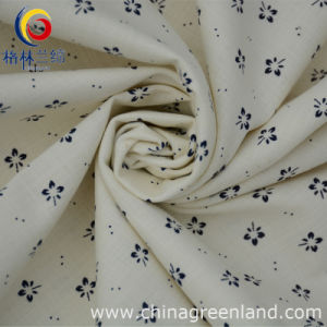 97%Cotton 3%Spandex Printed Dying Fabric for Shirt Garment (GLLML052) pictures & photos