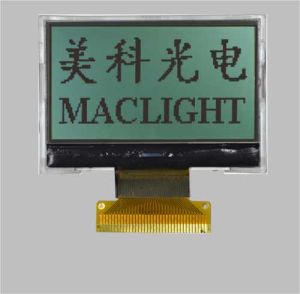 128X64 Dots FSTN/Stn Graphic Cog Mono LCD Module Display pictures & photos