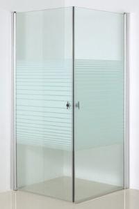 Line Glass Shower Enclosure with Pivot Door (SE-209 Line glass) pictures & photos