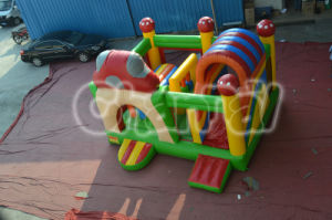 Inflatable Bouncer with Slide (CHB444) pictures & photos