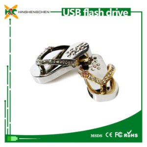 Crystal Slippers Model USB Flash Drive Memory Stick pictures & photos