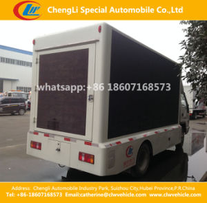 HOWO Mobile Moving Advertising LED Display Truck pictures & photos