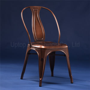 Wholesale Industrial Copper Metal Cafe Chair (SP-MC045) pictures & photos