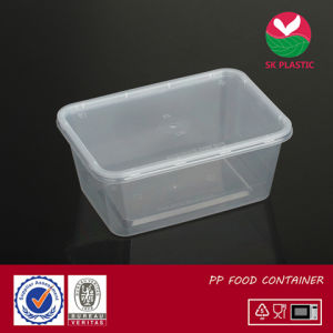Takeaway Plastic Food Container (S 1000 with lid) pictures & photos