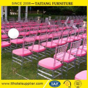 2016 Fashion Wedding Resin Clear Chiavari Chairs pictures & photos