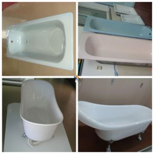 Multifunction Ivory Bathtub, Ceramic Bathtub White pictures & photos