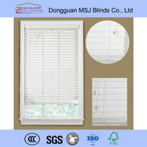 High Profile Metal Head Rail Durable 2′′ Fauxwood Blinds pictures & photos