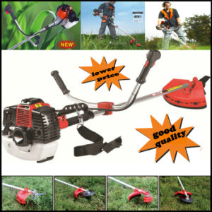 Heavy Duty Petrol Strimmer Grass Trimmer, Brush Cutter, 3 Tooth Blades Petrol Lawnmower