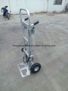 3 in 1 Convertible Aluminium Hand Truck pictures & photos