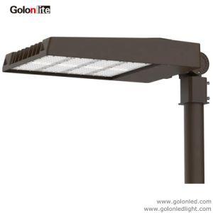 Outdoor 120lm/W Shoebox Parking Lot Lighting Fixture Daylight Sensor Photocell 150W 200W LED Shoe Box Light pictures & photos