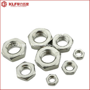 Hex Thin Nut DIN439 pictures & photos