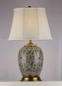 Simple Pattern Decor Ceramic Table Lighting (MT212146) pictures & photos