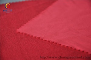 100%Polyester Knitted Imitate Suede Fabric pictures & photos
