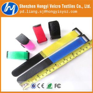 Self-Adhesive Nylon Elastic Velcro Cable Tie pictures & photos