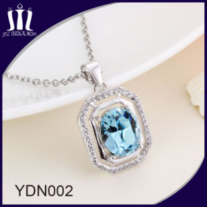 Hot Sale Elegant 925 Sterling Silver Rose Gold Jewelry Necklace pictures & photos