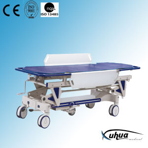 Manual Hospital Patient Transfer Stretcher Trolley (XH-I-2) pictures & photos