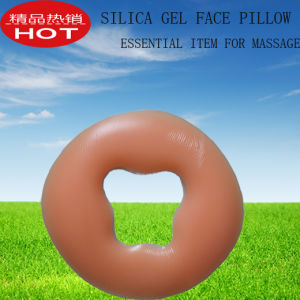 Essential Item for Massage or Beauty-Silica Gel Face Pillow pictures & photos