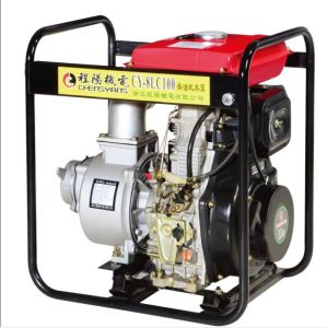 4-Stroke Diesel Engine Water Pump (CY-8LC100) pictures & photos