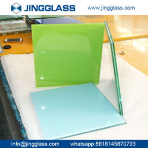 Building Construction Safety Corlored Tempered Ceramic Frit Glass