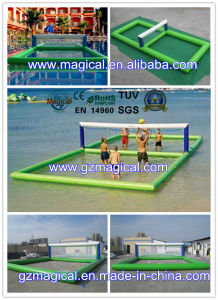 Mini Inflatable Volleyball Field Inflatable Water Volleyball Field (MIC-456) pictures & photos