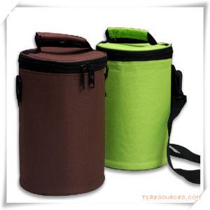 Cylindrical Shoulder Cooler Bag/Lunch Bag for Promotion pictures & photos