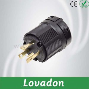 L6-30p American Anti-off Three-Hole Plug pictures & photos