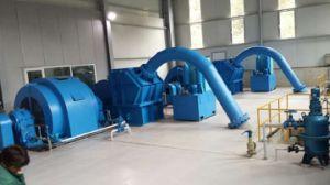 Hydro (Water) Pelton Turbine Generator Hv 6.3~10.5kv / Hydropower / Hydroturbine pictures & photos