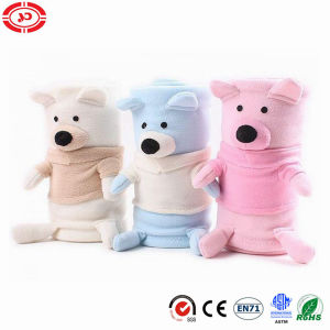 Plush Fleece Bear Rolling Baby New Design OEM Blanket pictures & photos