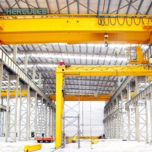 Hercules 50 Ton Double Hook Bridge Crane pictures & photos