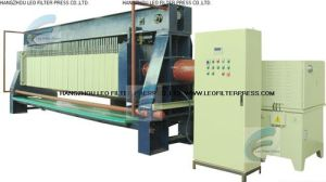 Leo Filter Press Fully Filter Cloth Automatic Washing Membrane Filter Press pictures & photos