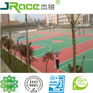 Plastic Indoor Basketball Court Flooring (JRace) pictures & photos