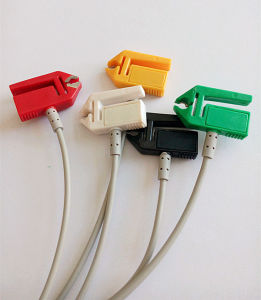 Mindray Snap&Clip Rou 12pin 5 ECG Cable pictures & photos