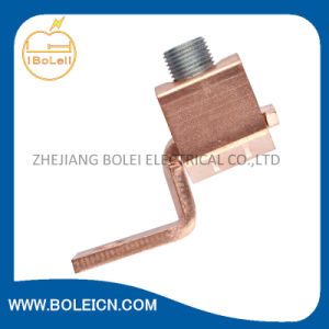 Copper Single-Conductor, One-Hole Mount (Offset-Tang) , Conductor Range 2 Str-1/0 Str pictures & photos