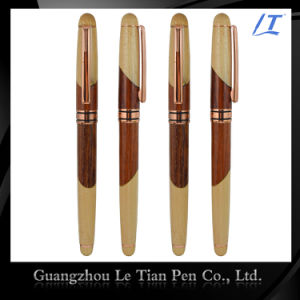 Factory Price Custom-Tailor Leather Luxury Wooden Pen pictures & photos