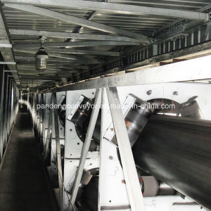 Bulk Material Handling Tubular Belt Conveyor Equipment for Cement pictures & photos