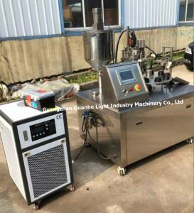 Semi-Automatic Plastic Tube Filling Sealing Machine with Chiller pictures & photos