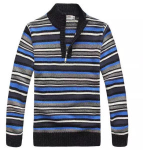 Men′s Knitted Long Sleeve Sweater (0165) pictures & photos