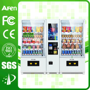 Automatic Drink and Snack Touch Screen Vending Machine pictures & photos