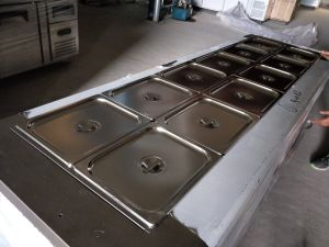 Food Warmer Trolley Bain Marie pictures & photos