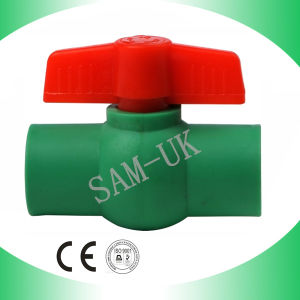 Plastic Ball Valves PPR Ball Valve PPR Fittings pictures & photos