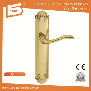 High Quality Brass Door Lock Handle-2650 pictures & photos