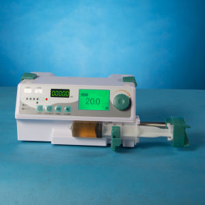 Medical Equipment, Single Channel Syringe Pump for Sale pictures & photos