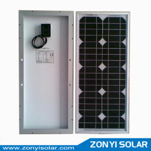Monocrystalline Silicon Solar Panel (5W-15W-20W-25W-50W-75W-100W) pictures & photos