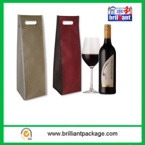 Factory Sales Promotion Noble/Generous/ Reusable Wine Bag pictures & photos