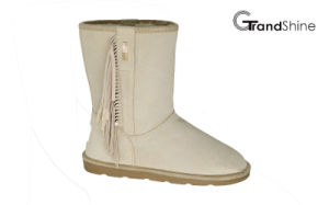 Women′s New Arrival Tassels Snow Lo Boots pictures & photos