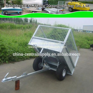 Factory Made and Sale Hydraulic 1.5X1.26m ATV Trailer (CT0098) pictures & photos