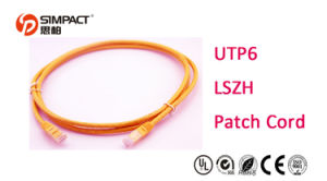 Category 6 UTP Patch Cord (PVC) pictures & photos